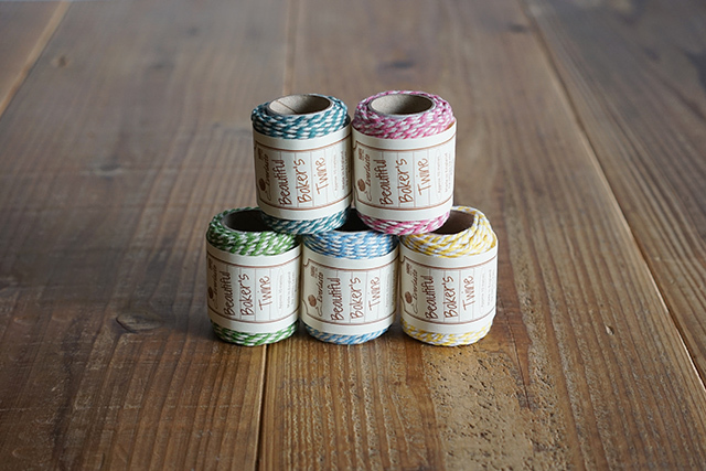 Beautiful Baker's Twine コットン紐
